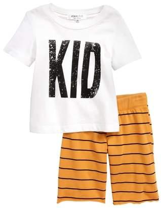 Joah Love Graphic T-Shirt & Pants Set
