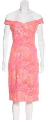 Nicole Miller Jacquard Sheath Dress w/ Tags