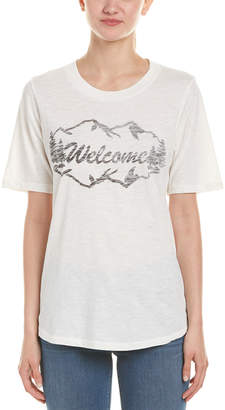 Sol Angeles Welcome Rolled Sleeve Top