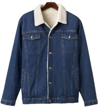 Big & Tall North 40 Lined Denim Jacket