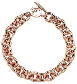 Amanda Wakeley Chunky Rose Gold Necklace