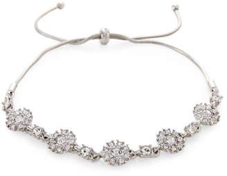 Givenchy Silver-Tone Floral Slider Bracelet