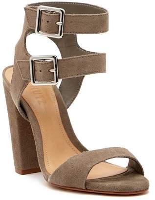 Schutz Mahagany Ankle Strap Sandal