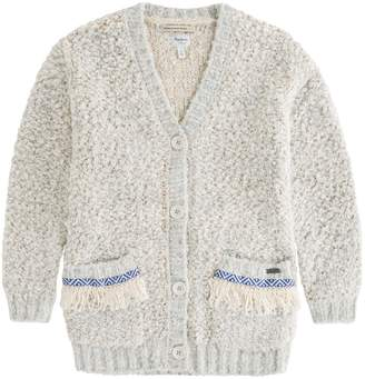 Pepe Jeans Bouclé Knit Cardigan, 8-16 Years
