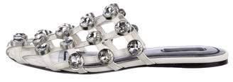 Alexander Wang Jewel-Embellished Amelia Sandals