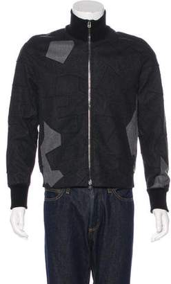 3.1 Phillip Lim Geometric Wool Jacket
