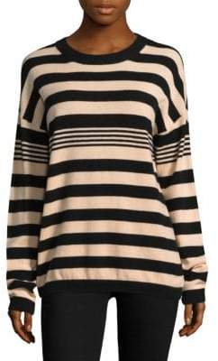 Equipment Bryce Striped Cashmere Sweater