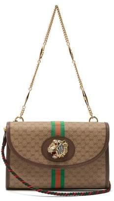 Gucci Small Rajah Gg Supreme Cross Body Bag - Womens - Beige Multi