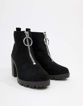 Asos DESIGN Rakel chunky heeled boots