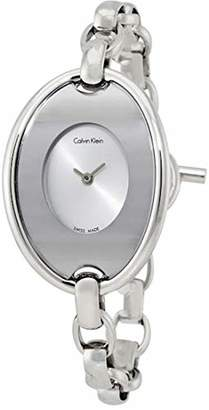 Calvin Klein K3H2 M126 – Watch For Women Silver Stainless Steel Strap