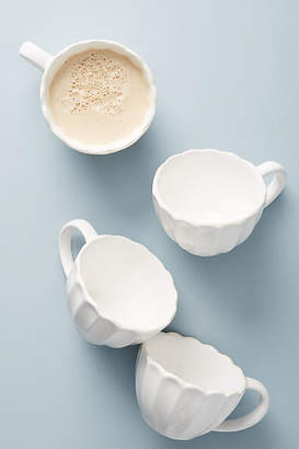 Anthropologie Gather by Daisy Mugs, Set of 4