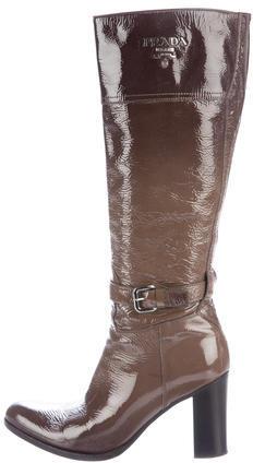 pradaPrada Ombré Knee-High Boots