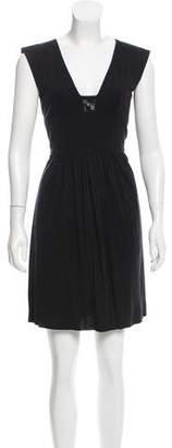 Akris Punto Wool Mini Dress