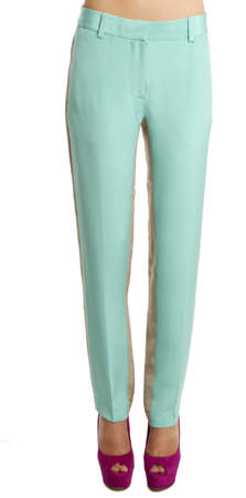3.1 Phillip Lim 3.1 Phillip Lim Shadow Trouser in Aqua/Beige