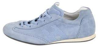 Hogan Suede Low-Top Sneakers