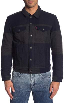 Levi's Wool Trucker Jacket
