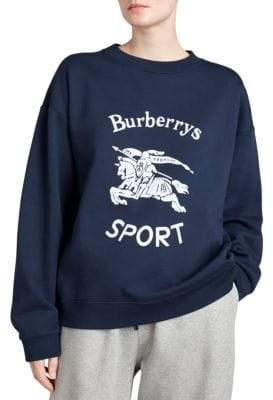 Burberry Logo Sport Sweatshirt
