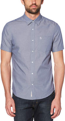 Original Penguin STARS PRINT CHAMBRAY SHIRT