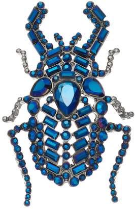 Vera Wang Simply Vera Blue Simulated Crystal Beetle Pin