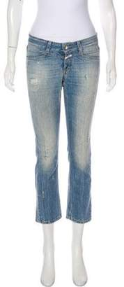 Closed Starlet Distressed Low-Rise Jeans