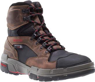 Wolverine Mens Durashocks Waterproof Slip Resistant Composite Toe Pull-on Work Boots