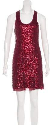 Max Studio Sequin Mini Dress