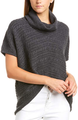 Forte Cashmere Forte Cable-Knit Cashmere Turtleneck