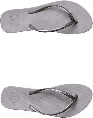Reef New Women's Womens Escape Lux Thong Rubber Silver