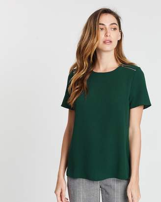 Dorothy Perkins Zip Soft Tee
