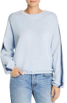 ATM Anthony Thomas Melillo Stripe-Detail Sweatshirt