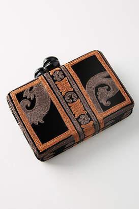 Maliparmi Velvet Carpet Box Clutch