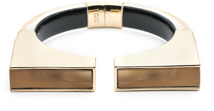 Alexis BittarGeometric Hinge Bracelet