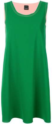 Pinko overstitched A-line mini dress