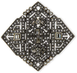 Heidi Daus Artful Sophistication Crystal Deco Pin