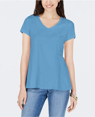 Style&Co. Style & Co Petite V-Neck Top