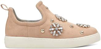 Nwwts Perfume Jeweled Slip-On Sneakers