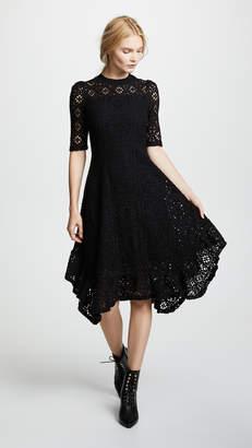 See by Chloe Asymmetrical Hem Dress