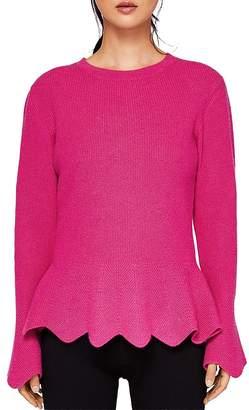 Ted Baker Bobbe Peplum Sweater
