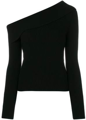 Theory asymmetric knitted top