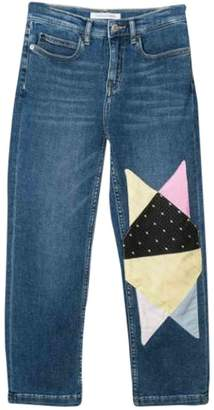 Calvin Klein Jeans With Patchwork Effect