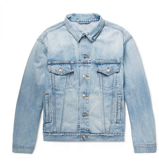 Balenciaga Bleached Denim Jacket