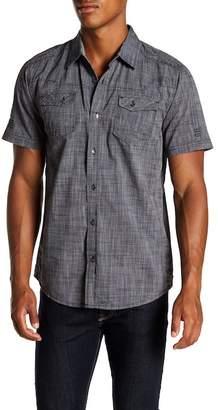 ProjekRaw Projek Raw Short Sleeve Modern Fit Shirt