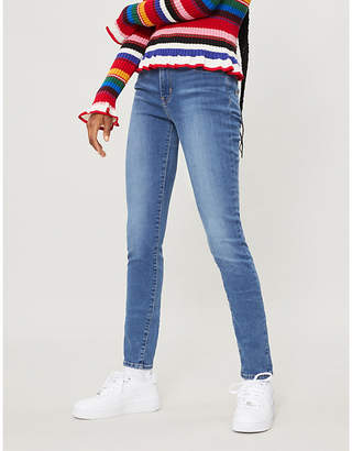 Levi's 721 super-skinny high-rise jeans