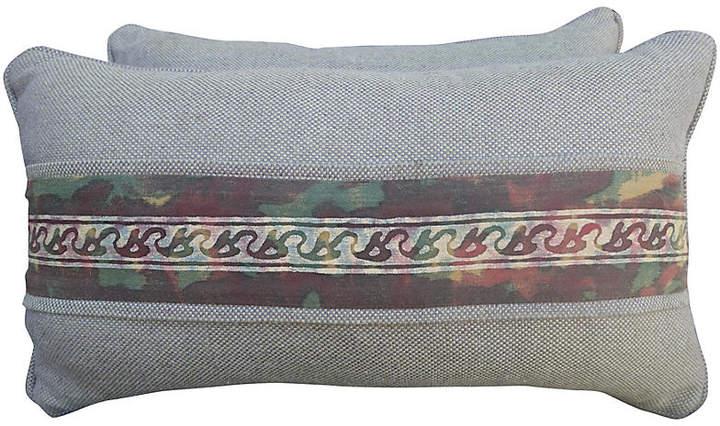 Fortuny Border Lumbar Pillow