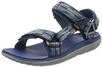 Teva Men's Terra - Float Univ 2.0 Sports and Outdoor Lifestyle Sandal, Blue (Tancion Navy), (44.5 EU)