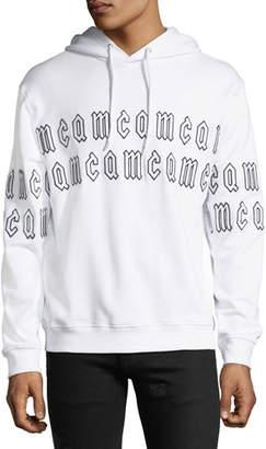 McQ Men's Clean Logo-Print Hoodie Sweatshirt