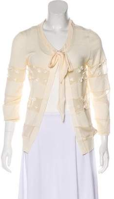 Christian Dior Wool and Silk Cardigan
