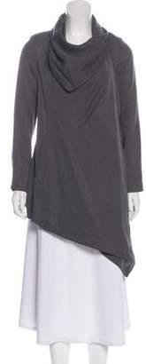 AllSaints Long Sleeve Asymmetrical Jacket