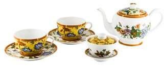 Hermes 7-Piece La Siesta Partial Tea Service