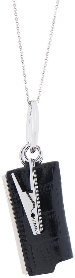 Alexander WangAlexander Wang Lightercase Charm Chain Necklace